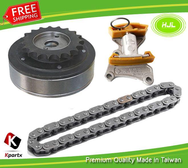 Details about Timing Chain Kit + Camshaft Adjuster Fits VW