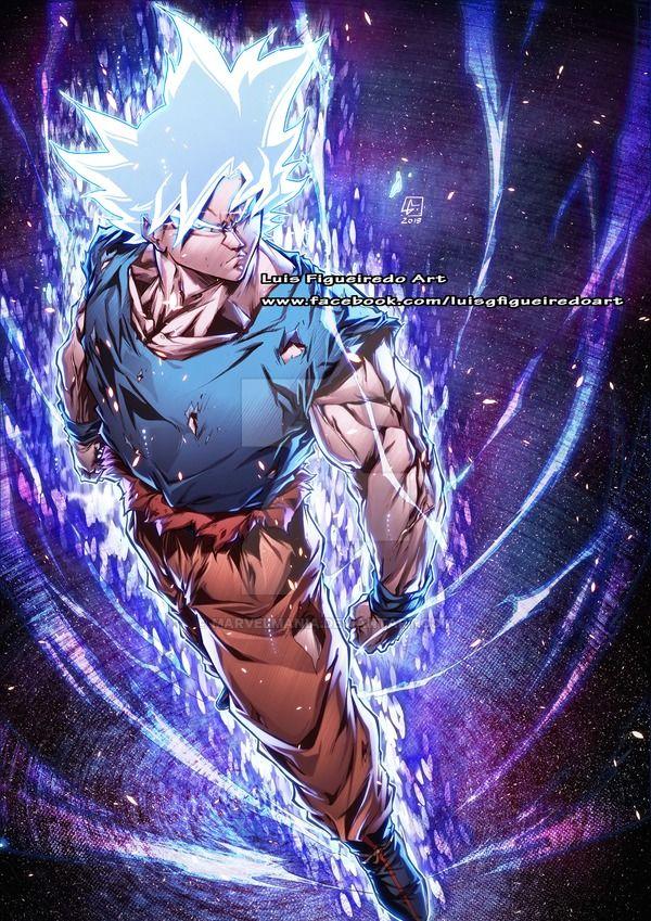 Goku Perfect Instinct Dragon Ball By Marvelmania Deviantart Com On Deviantart Dragon Ball Art Dragon Ball Artwork Dragon Ball