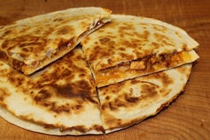who doesn't enjoy a good quesadilla