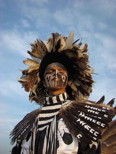 Dancer in traditional regalia at a Saskatchewan First Nations pow wow. |© smalltownSK, on Flickr.
