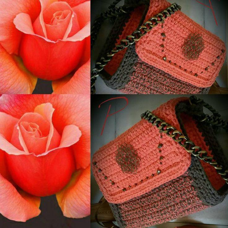 "Passionis handmade accessories (@passionis_handmade_accessories) στο Instagram: ""''Ερατώ'' για εντυπωσιακές εμφανίσεις....❤ #passionis_handmade_gr #shoulderbag #handmade…"""