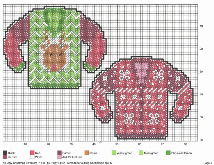 Ugly Christmas Sweaters * 3/7