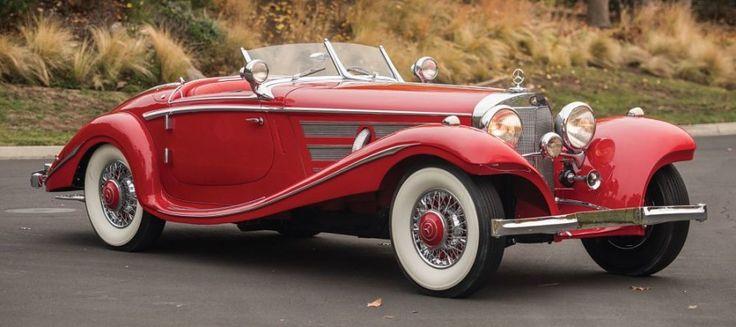 1936 Mercedes-Benz 540K Roadster Special - Retro Cars Spain alquiler de coches clasicos para bodas y eventos