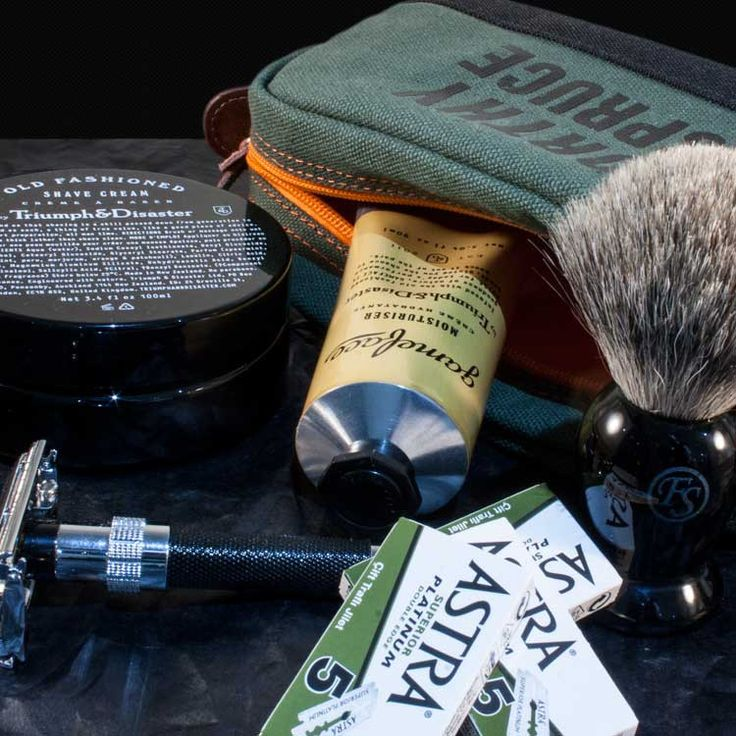 The Ultimate Classic Shave Tool Kit from Worthy & Spruce
