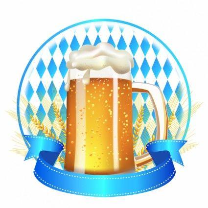 banner di birra di frumento