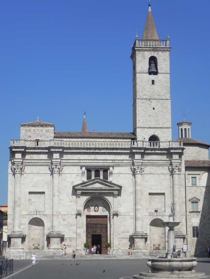 """Ascoli Piceno' - Cathedral: this is the cathedral in """"Arringo Square"""", the other important square of our city. This church is even more beautiful at night as you can see taking a photo in the morning is priceless"""