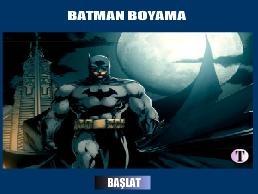 Batman Boyama | http://www.boyama1.com/batman-boyama.html