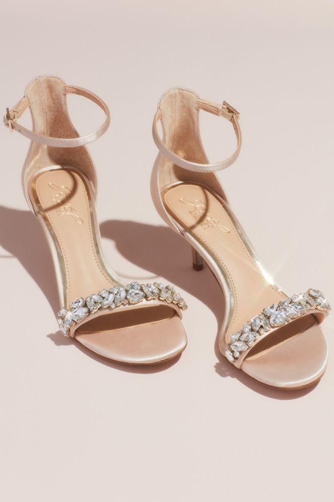 Crystal Strap Kitten Heel Sandals Kitten Heel Sandals Sandals Heels Kitten Heel Wedding Shoes