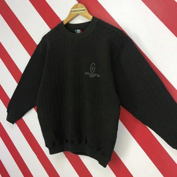 Vintage Gianni Valentino italy logo sweatshirt