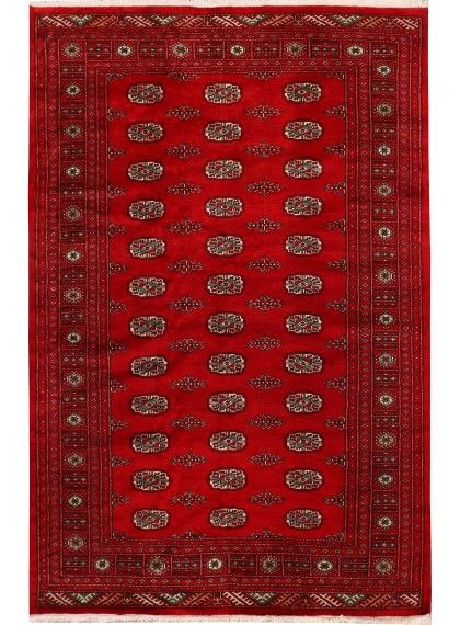Bokhara Rug we own. approx 6.5 ft x 9