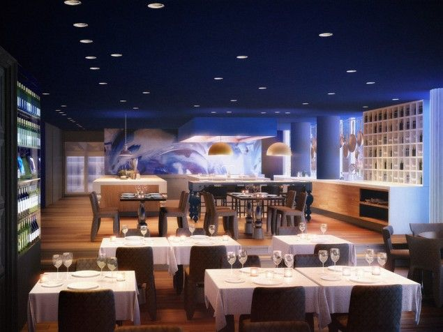 Andaz Amsterdam Prinsengracht - An artful regional dining experience at the Bluespoon Restaurant.