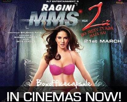 Ragini MMS 2 (2014) 4th Day Box Office Collection   Boxofficecapsule