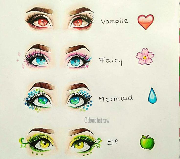 Vampire: Virgo, Gemini, Scorpio Fairy: Aries, Sagittarius, Libra Mermaid: Pisces, Aquarius, Capricorn Elf: Cancer, Taurus, Leo