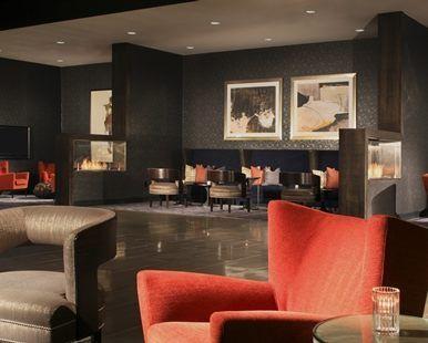 Hilton Parsippany Hotel, NJ - Fireplace Seating   NJ 07054