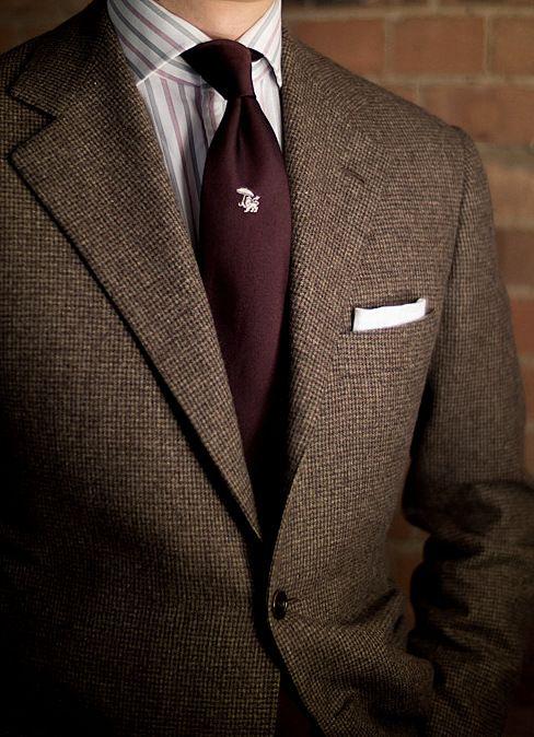 Sports Coats | Burgundy Tie | Men's Holiday Fashion