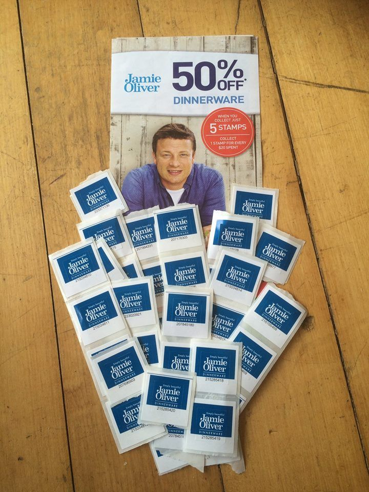 Jamie Oliver Countdown sticker giveaway (October 2014)