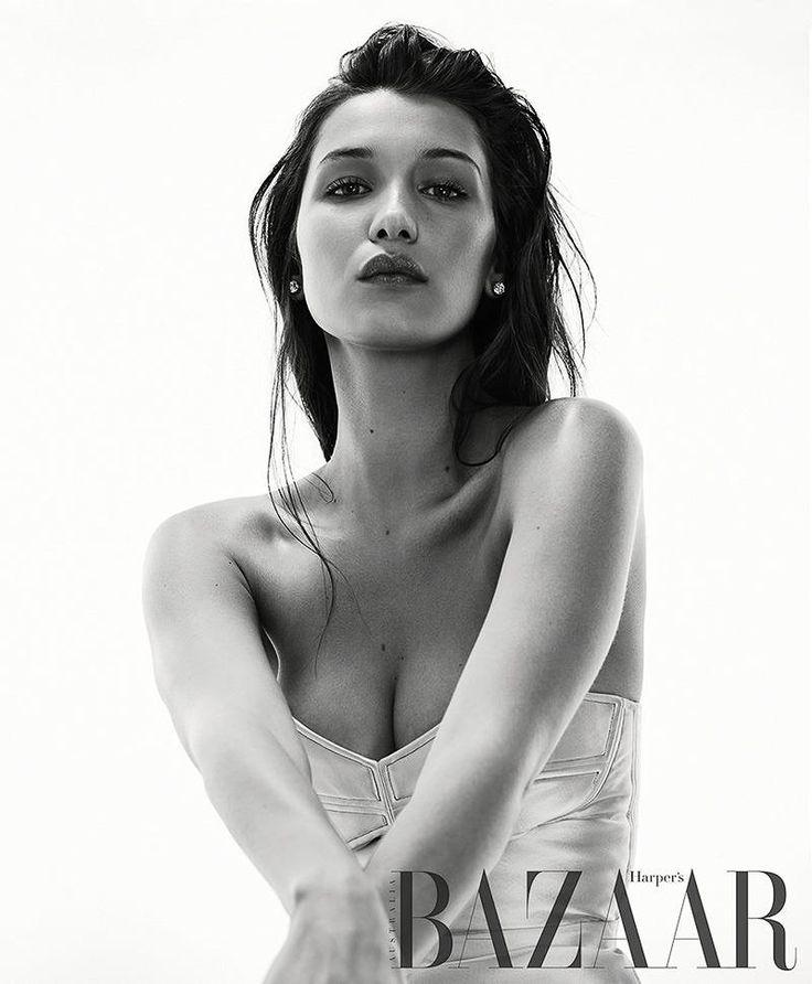Harper's Bazaar Australia August 2016 Bella Hadid by Georges Antoni