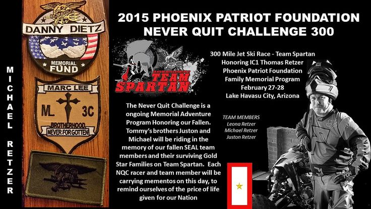 https://flic.kr/p/r1JT4E | 2015 Never Quit Challenge 300 Jet Ski Endurance Race for Veterans | This is gonna be great! 2015 Never Quit Challenge 300 Jet Ski Race 2015 Never Quit Challenge Pit Crew. The 300 would not be possible without an exceptional pit crew fielded with elite individuals. We are honored to have these people on board to assist in our#PhoenixPatriotFoudation #300 #Jetski race on behalf of our select Veterans  The race is a memorial race in honor of Mark Hahn, it is called…