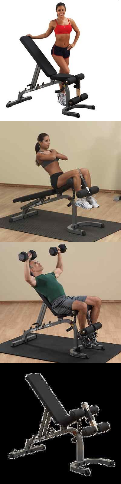Benches 15281: Body-Solid Adjustable Flat Incline Decline Bench Gfid31 - Fitness Equipment -> BUY IT NOW ONLY: $310 on eBay!