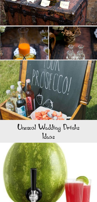 Feb 11, 2020 - Unusual Wedding Drinks Ideas