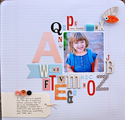Great way to use up letter stickers: Galleries, Scrapbook Layouts, Scrapbooking Papercrafting, Scrapbooking Inspiration, Scrapbook Inspiration, Scrapbooking Scrappy, Scrapbooking Ideas, Scrapbooking Goodies, Scrapbooking Layouts