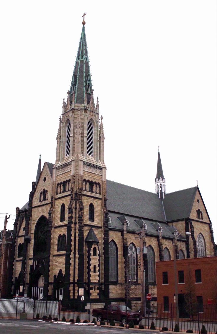 Located at 1919 S. 7th St., in St. Louis, Missouri, the Franz Hempler church was designed in the 14th Century Gothic style.