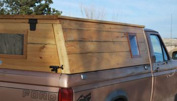 The Dog House, a.k.a. new truck topper