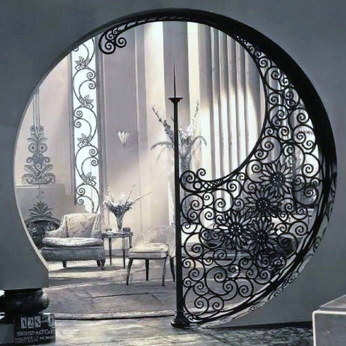 Elsie de Wolfe   interior    design for a sitting room in the house Marlene Dietrich owned in Hollywood in the 1930s.