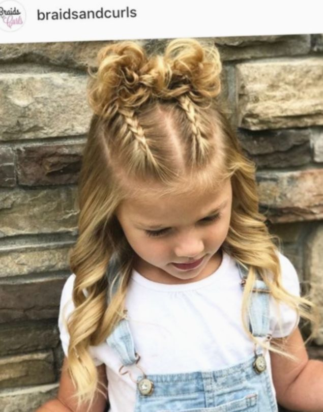 Hairstyles For School Picture Day Curls Salonrepublic Beachwavehair Rosegoldhair Picture Day Hair Kids Hairstyles Girls Girls Hairstyles Easy