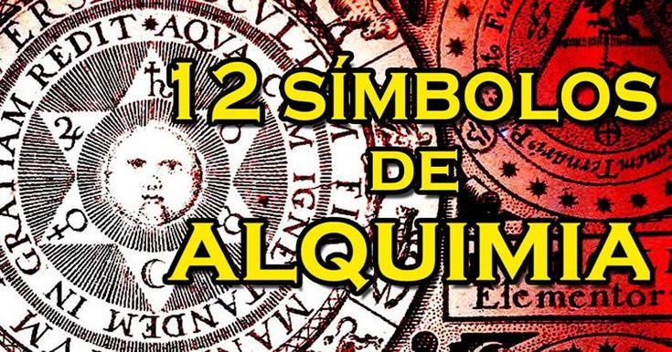 Doce símbolos antiguos y minerales usados en la Alquimia - http://codigooculto.com/2016/12/doce-simbolos-antiguos-y-minerales-usados-en-la-alquimia/