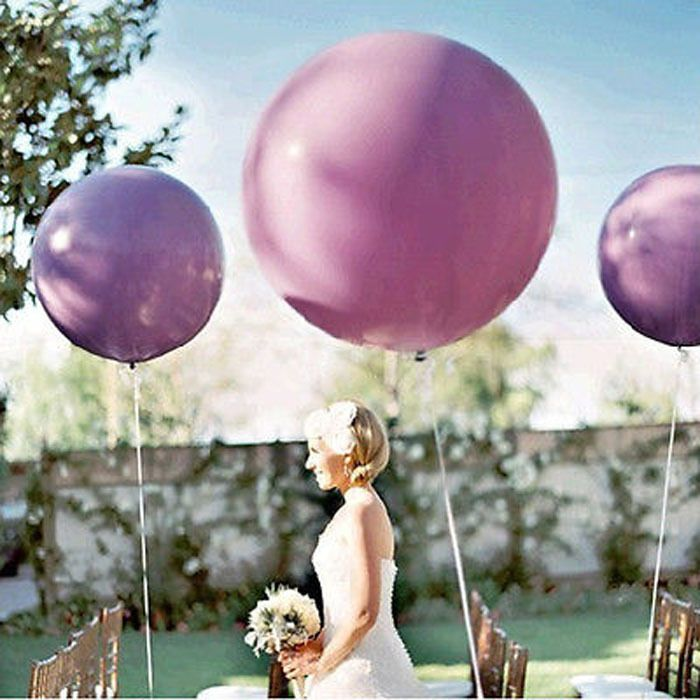 """Свадебные украшения 36 """" 90 см гелием большой латекс ну вечеринку большой гигантские воздушные шары украшения металлические надувные воздушные шары арки 1 шт.(China (Mainland))"""