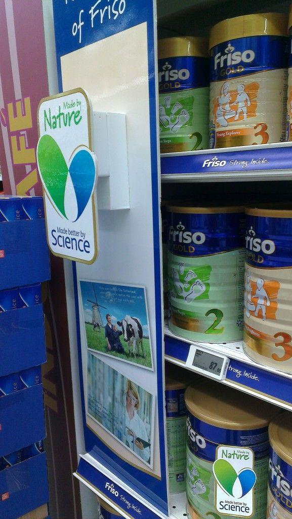 The Story of Friso Shelf Banner | Shelf Banner