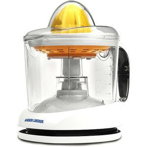 Small juicer that doesn't take too much space for oranges and lemons. Black & Decker 1-Quart Citrus Mate Juicer