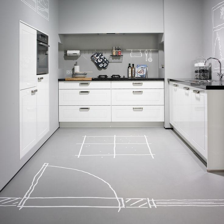 Handgrepen Keuken Rvs : Keuken op Pinterest – Graniet, Rivierwit Graniet en Granieten Keuken