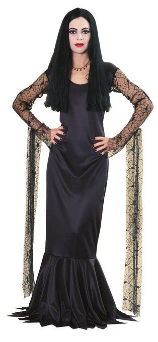 Morticia Addams - The Addams Family #Halloween #costume