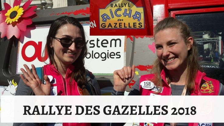 Rallye des Gazelles AICHA/Rallye des Gazelles 2018 départ de Nice
