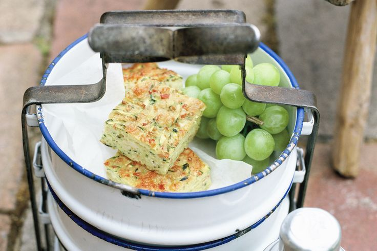 The humble zucchini slice is by far taste.com.au's most popular recipe. Not only this, it is super fast to make in a Thermomix and a firm family favourite. We swap the flour for wholemeal spelt and add a teaspoon of baking powder! Yummo...
