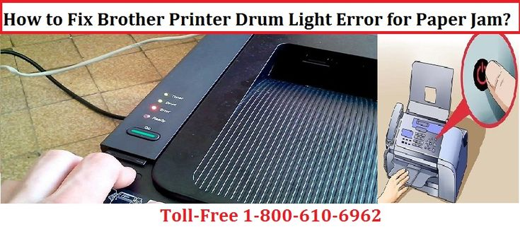 Get in touch With Brother Printer support number 1-800-213-8289 to fix brother printer says paper jam but there is none. We assure you that we will give you the best services .It is utmost necessary to fix Brother Printer Drum Light Error for Paper Jam to continue printing. For more details call us at Toll Free number or visit our website.