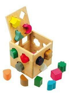 Juguete interactivo madera