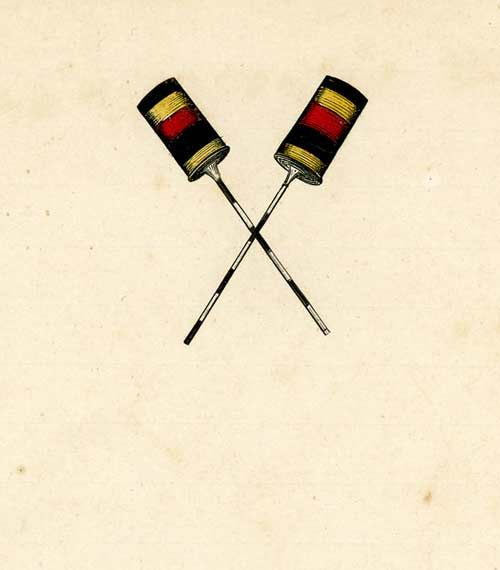 Kahili insignia used on letterhead | Hawaiian Kings, Queens, Leaders ...