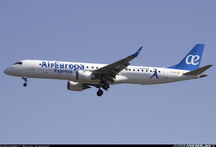 Embraer 195LR (ERJ-190-200LR) - Air Europa Express | Aviation Photo #4744839 | Airliners.net-- 19000196--