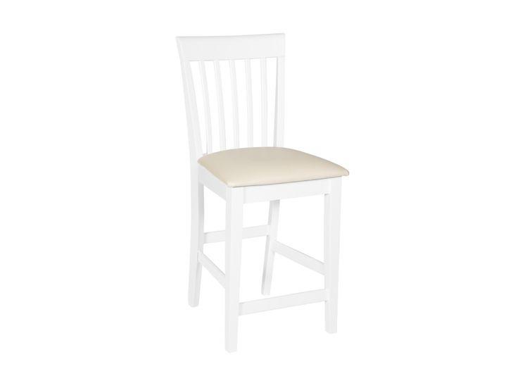 ASKERSUND Barstol Vit i gruppen Inomhus / Stolar / Barstolar hos Furniturebox (110-62-69486)