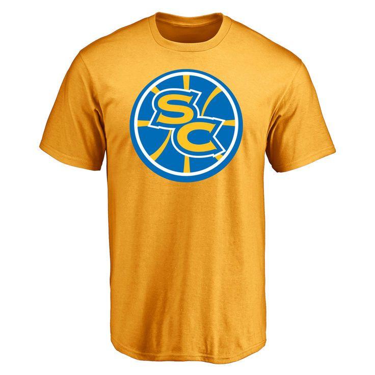 Santa Cruz Warriors Secondary Logo T-Shirt - Gold - $24.99