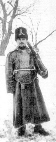 1915 Russian soldier with body armour