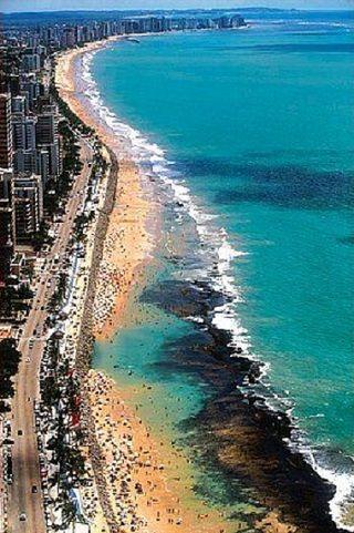 Boa Viagem Urban Beach, Recife, Brazil