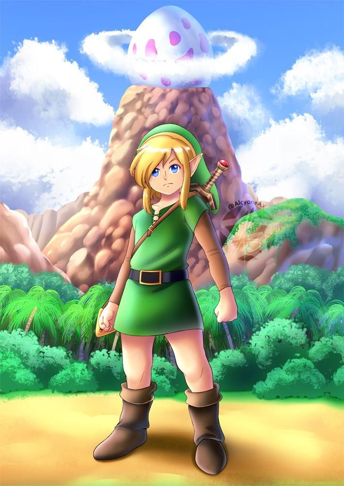 Link S Awakening By Alcyoneax Legend Of Zelda Hyrule Warriors Twilight Princess