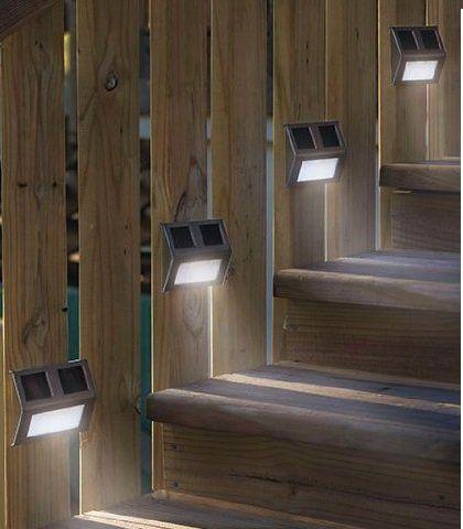The 25 best dock lighting ideas on pinterest dock ideas dock awesome hosl 10pack solar powered stainless steel staircase led solar step lights solar dock light mozeypictures Gallery