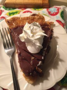 Pioneer Woman's Chocolate Pie recipe is the best recipe ever in my opinion