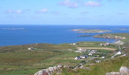 My (other) favourite place in Ireland: Sky Road in Clifden, Co. Connamara. Spectacular views guaranteed.