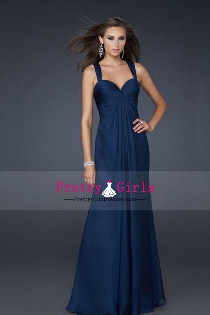 2013 Cheap Prom Dresses Spaghetti Straps Sheath/Column Floor Length With Ruffles CAD 188.48 PGDPNX6GS93 - PrettyGirlsDresses.com